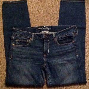 American Eagle Skinny Jeans Size 12 Short